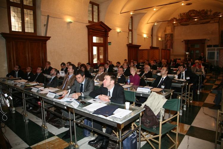 Ecprd the participants for Parlamento italiano deputati